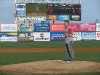 Christian Finnegan Throws the First Pitch for the Brooklyn Cyclones
