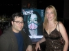 David Fenton, Publisher of Jest and Kambri Crews of Ballyhoo Promotions at Jest Magazine\'s National Launch Party