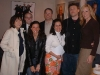 Today Show Green Room during Friends Finale Week Pictured L to R: Janice Min (US Weekly), Patrick (NBC), Lori Hornick (VH1), Matt Roush (TV Guide), Alicia Ybarbo (NBC), Christian Finnegan (VH1) & Kambri Crews (Ballyhoo Promotions)