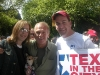 Kambri Crews, John Spencer & Scott Ramsey Tex in the City at the AIDS Walk