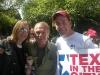 Kambri Crews, John Spencer & Scott Ramsey Tex in the City at the AIDS Walk