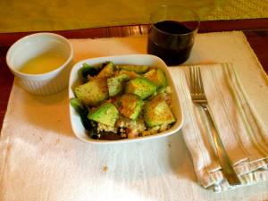 Roasted Avocado & Couscous Salad
