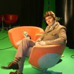 "Filming ""Jokespirations"" for Christian's DVD ""Au Contraire"" - April 2009"